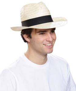 chapeau paille personnalisable
